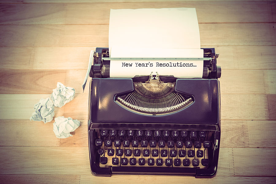 New Year's Resolutions for Writers featured image